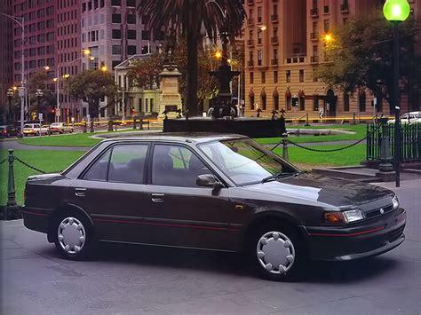 mazda  bg sedan    autoevolution