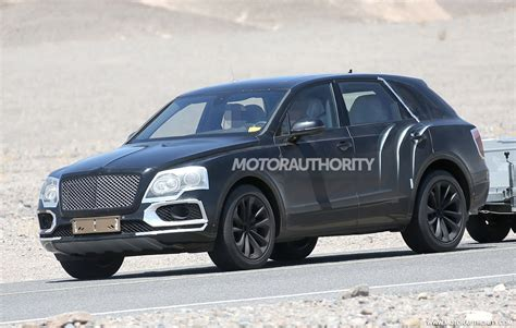 bentley bentayga spy shots  video