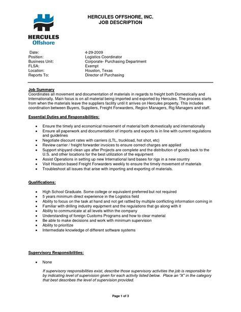 interesting freight forwarding resume for ship broker