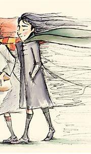 Snape and Lily Is - Severus Snape Fan Art (2497609) - Fanpop
