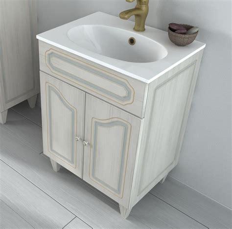 mobile bagno 60 mobile bagno caravaggio arte povera decap 232 da 60 o 90 bh