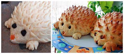 diy fantastic hedgehog bread
