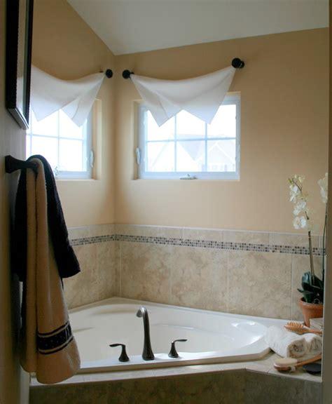 bathroom drapery ideas modern interior bathroom window treatments
