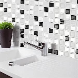 Home Decor Brick Mosaic Kitchen Bathroom Foil Beauty 3D ...