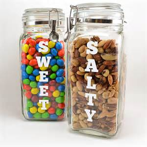 kitchen canisters sets cravings snack canisters for sweet and salty snacking a bigger