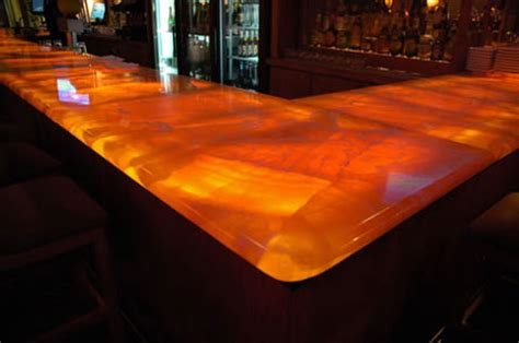 glowing countertop 10 creative counter surface material designs ideas urbanist