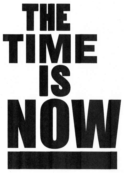 The Time Is Now Home
