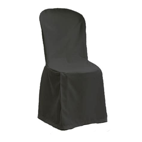 black chair covers folding