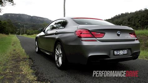 2013 Bmw 650i Gran Coupe Engine Sound And 0100kmh Youtube