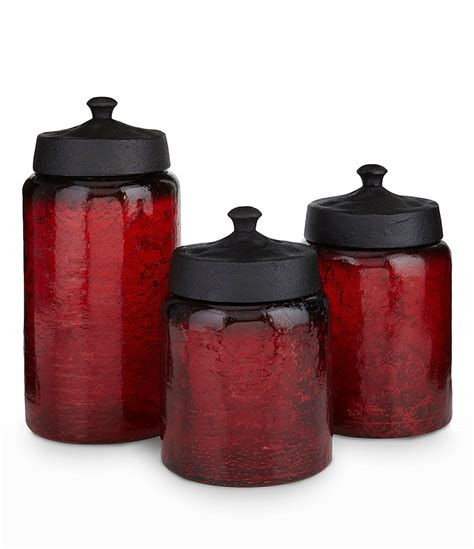 Kitchen Glass Canisters by Artimino Glass Canisters With Metal Lid A House
