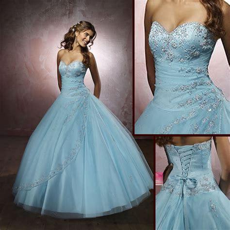 light blue wedding dresses luxury brides