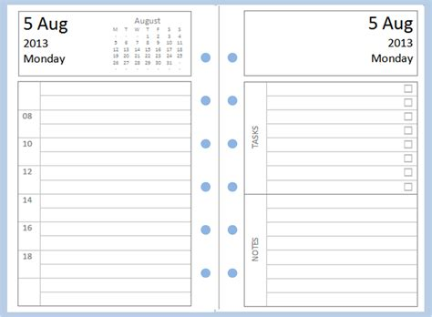 images  filofax printable pages printable diary