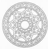 Coloring Pages Printable Hard Mandalas Popular Adults sketch template