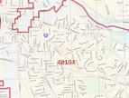 Ann Arbor MI Zip Code Map