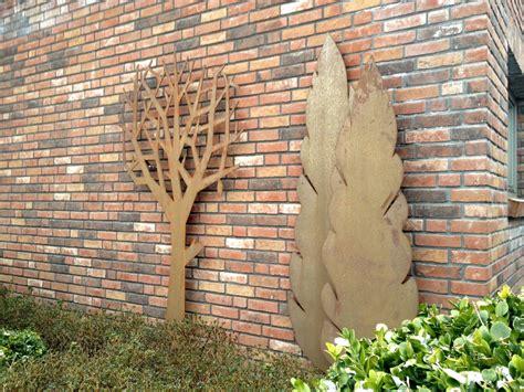 Wanddeko Für Draußen by Rost Cortenstahl Zinsser Gartengestaltung