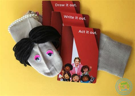 easy sock puppets  child fun