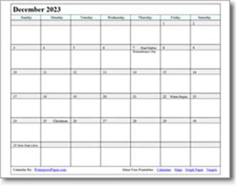 december  printable calendars print