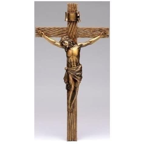 roman 20 quot joseph s studio religious antique gold crucifix