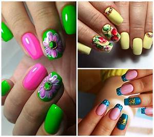 Summer nails 2018 trends and ideas of summer nail art - Im glamour