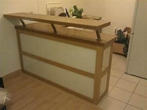 Bar Séparation Separation Cuisine Salon : meuble bar cuisine pas cher id e pour cuisine ~ Dallasstarsshop.com Idées de Décoration