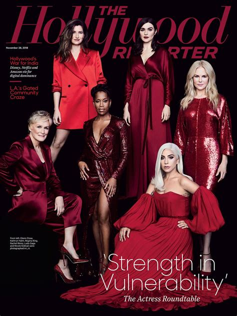 Lady Gaga Covers The Hollywood Reporter / Joins 'Actress ...
