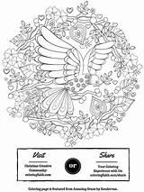 Coloring Grace Amazing Faith Clip Graphics Books sketch template