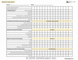 Coffee Drinks Chart Antecedent Behavior Consequence Abc Chart