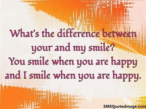 smile    happy flirt sms quotes image