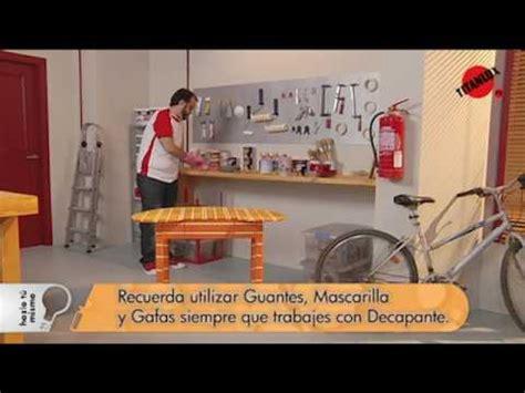 cómo decapar un mueble titanlux tv