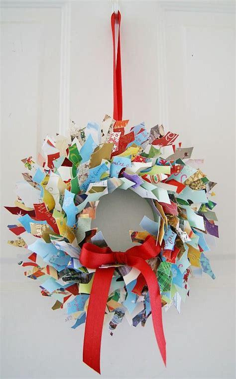 reuse upcycle  christmas cards christmas