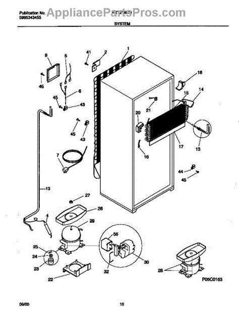 parts for frigidaire frt21ngjd3 system parts