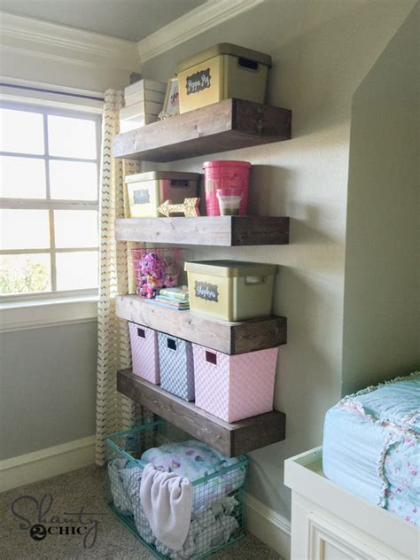 diy floating shelves plans  tutorial shanty  chic