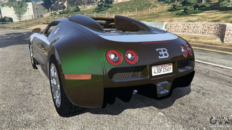 If the car you want is in simeon's list, it has a better chance of spawning. Bugatti Veyron Grand Sport v3.0 for GTA 5