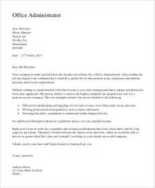 Administrative Cover Letter For Resume by Administration Resume Sles 29 Free Word Pdf Documents Free Premium Templates