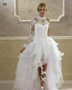 Robe Mariee Courte : robe de mariee courte devant ~ Melissatoandfro.com Idées de Décoration