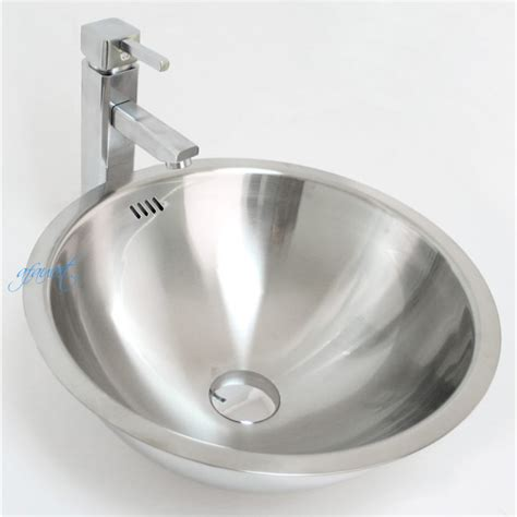 Steel Bathroom Sink by 18 Stainless Steel Drop In Undermount