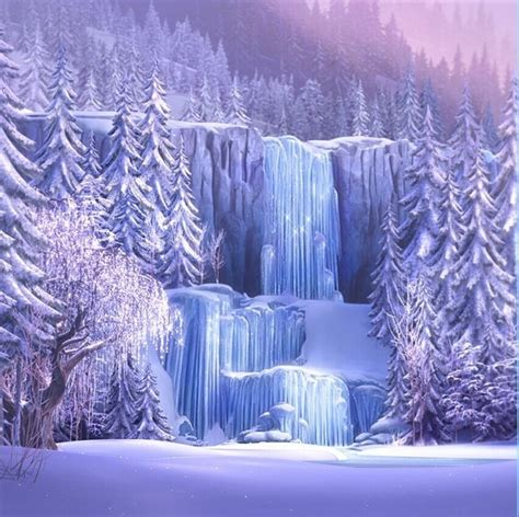 xft custom backgrounds iced fall waterfall falls pink