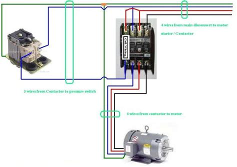Magnetic Contactor Wiring Diagram by Three Phase Contactor Wiring Diagram Electrical Info Pics