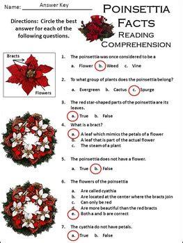 poinsettia activities poinsettia facts christmas science