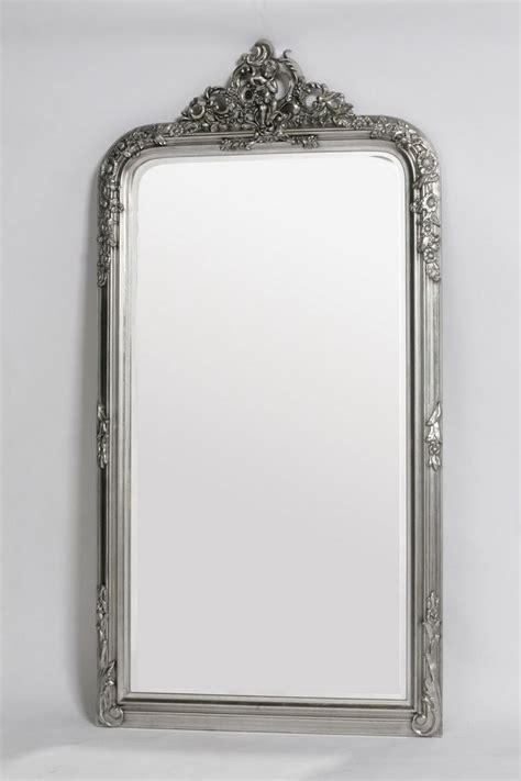floor mirror uk french style antiqued silver floor standing mirror uk site bedrooms pinterest mirror