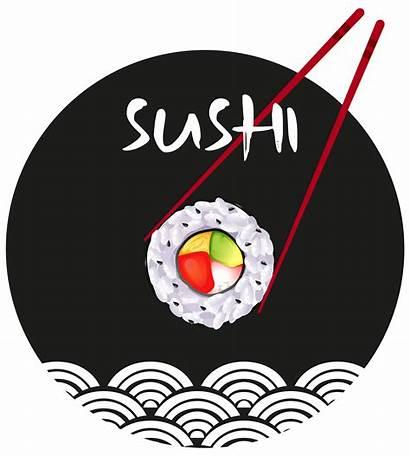 Sushi Sticker Vector Illustration Clipart Cartoon Graphics