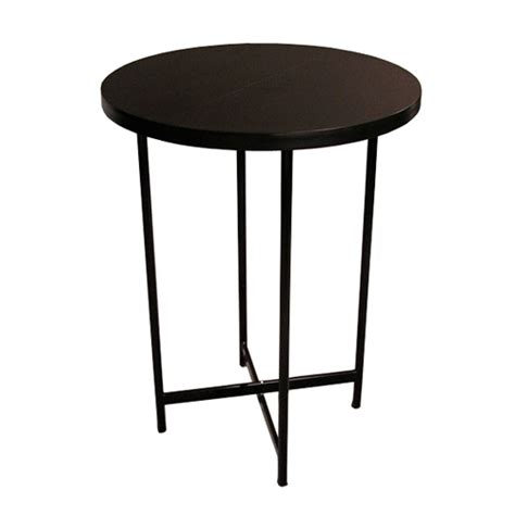 Pack Stuff Trade Show Table Folding Bar Height Round Table