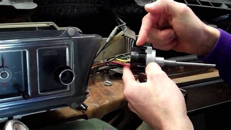 replacing  windshield wiper switch youtube