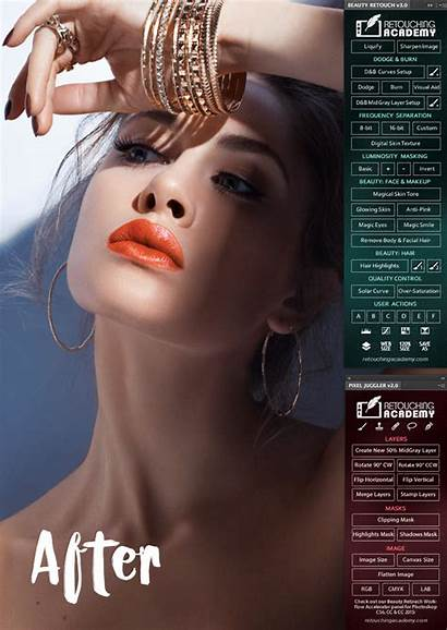 Beauty Retouch Panel Retouching Photoshop Italiana Enlarge