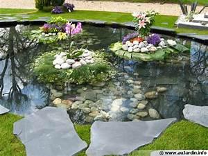 Jardin Paysager Exemple : jardin idee amenagement decoration poteau exterieur maison email ~ Melissatoandfro.com Idées de Décoration