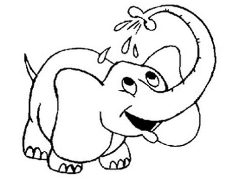 printable elephant coloring pages  kids