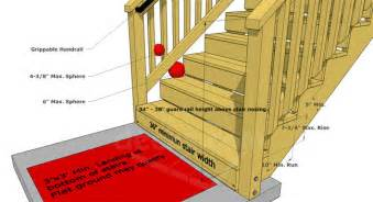 how to build a deck stairs steps