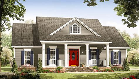 traditional house plan  options mm