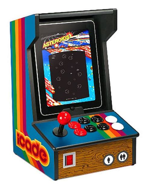 Ion Icade Turns Your Ipad Into A Tabletop Arcade Cnet
