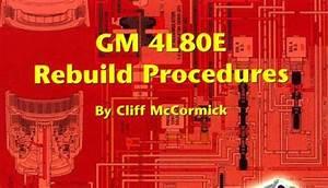 Gm Thm 4l80e Atra Manual Repair Rebuild Book Transmission